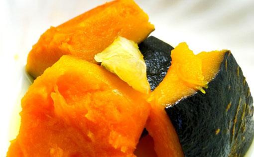 レモン風味のかぼちゃ煮